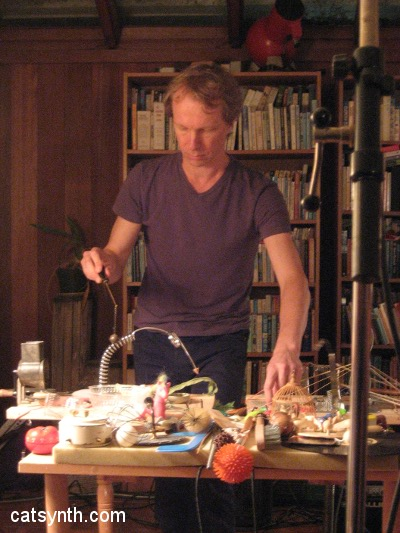 Johannes Bergmark concert at Tom Duff's 2009