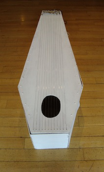 Singing Coffin at exhibition Prague 2012