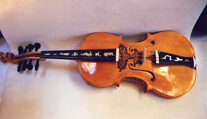 [The Hardanger Fiddle, front]