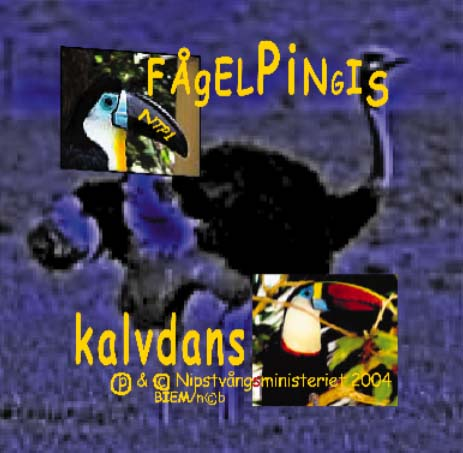 [Fågelpingis Kalvdans cd disc print]