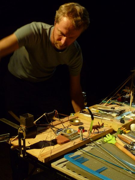 Platforms played by Johannes Bergmark at Colour Out Of Space 2011. Photo © by miss e kawasaki.