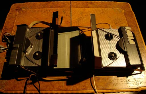 [Johannes Bergmark's Tape Loop installation]