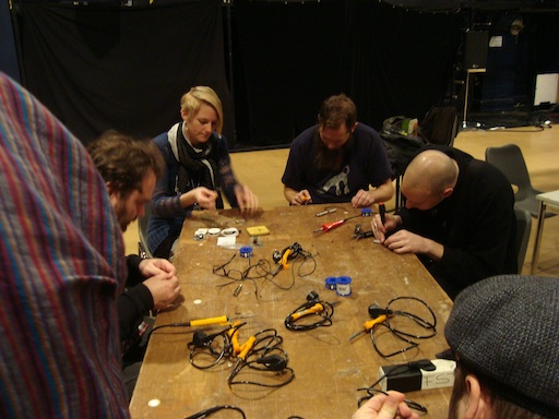 Workshop at Fylkingen 2010